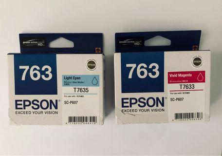 T7635 & T7633 Epson Ink for SC-P607