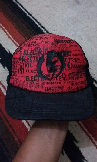 Electric trucker cap