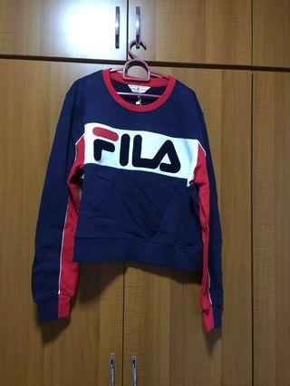 🚚 Brand New Authentic FILA Tri Colour Pullover from Taiwan