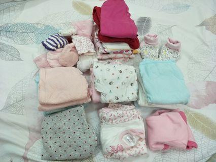 Newborn baby apparels
