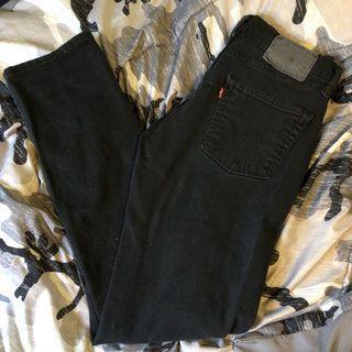 Levi's 511 low rise jeans W32