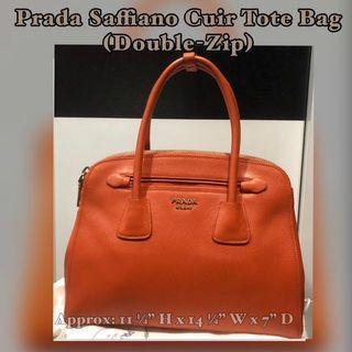 e3cdbf2d9659 prada saffiano cuir double | Luxury | Carousell Singapore