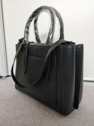 Black Satchel Cross Body/Call it Spring
