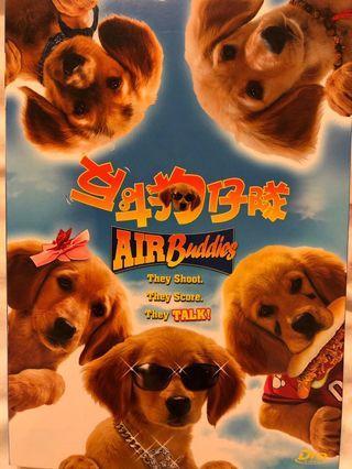 DVD:反斗狗仔隊 Air Buddies 電影
