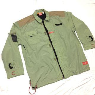 BEELSEWHERE GREEN ARMY JACKET