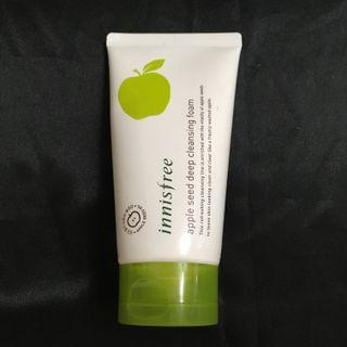Innisfree apple seed deep cleansing foam 青蘋果籽清透深層潔面乳 150ml