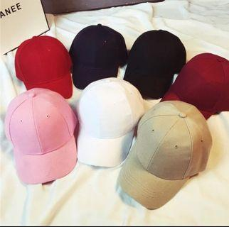 🆕️Plain Fashion Baseball Tumblr Cap