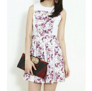 Krystal In Lavender One Piece Dress For Ladies