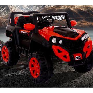 A-Q小家電 A6500 載重60 四輪越野車 越野沙灘車 兒童越野電動車 吉普車 2.4G搖控+搖擺+早教 兒童電動車