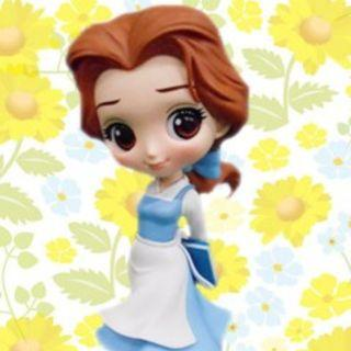 Q posket Disney Characters -Belle Country Style
