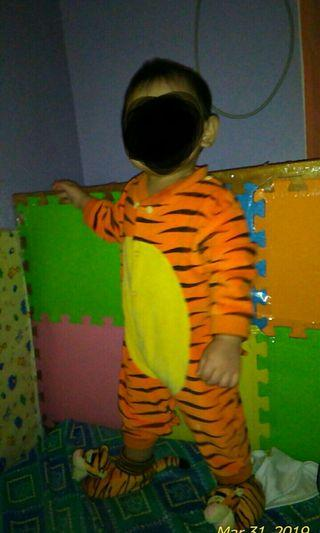 Tigger Costume and Shoes