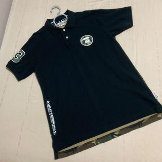 🚚 AAPE by BAPE Short Sleeved Polo