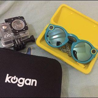 Kacamata Video Spectacles BONUS Action Cam Kogan