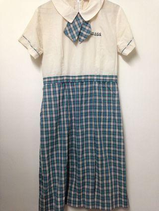 代友售 聖公會白約翰會督中學夏季校服裙