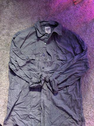 Men's Grey dress shirt