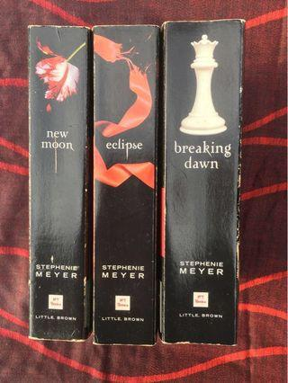 Twilight Series ( One for 10 , 3 for RM25)