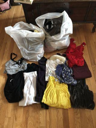 Clothing lot grab bag sizes XS small medium