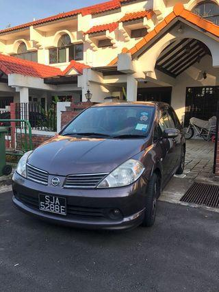 Nissan Latio for lease