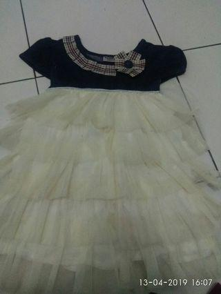 Dress pesta dress anak