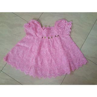 Brukat pink