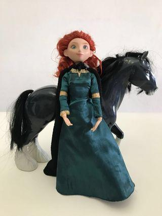Disney Merida and Angus dolls from Brave