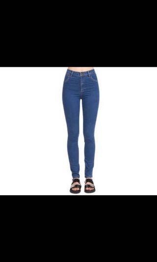 BDG Super High Rise Skinny Jeans