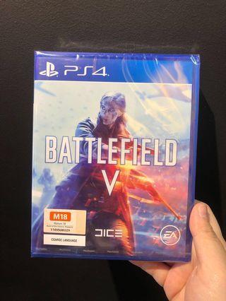 [Selling Cheap] PS4 Battlefield V R3