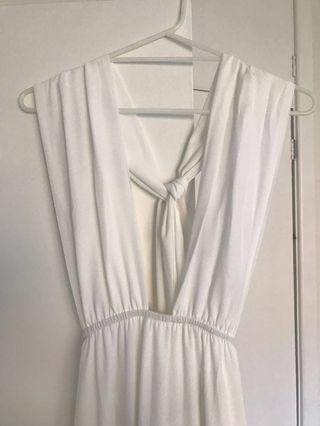 White Multi-way Formal Dress BNWT
