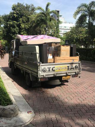 Lorry And Driver Rental : Transport Delivery Moving Disposal Relocation