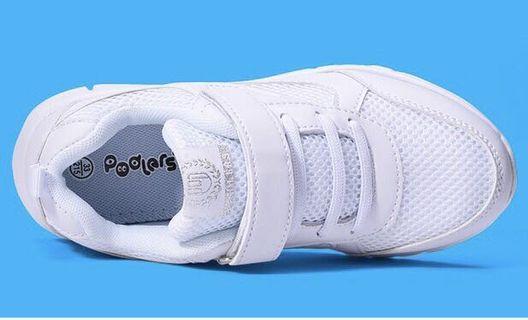 全新返學白波鞋 運動鞋
