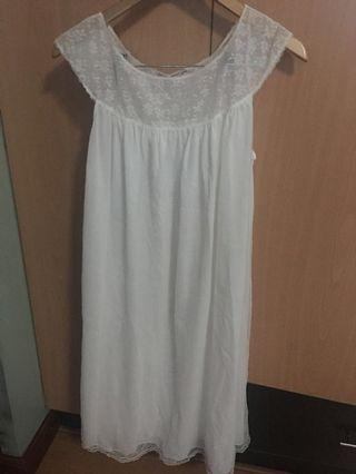 Vintage 2 PC lace nightgown