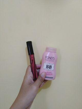 Ponds magic Powder & Lipstik