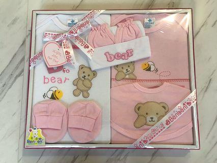 🚚 Brand New Baby Girl 6 Piece Gift Set