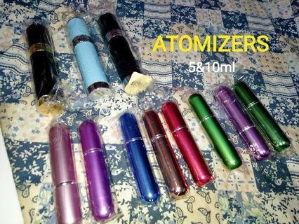 Atomizers 5&10ml