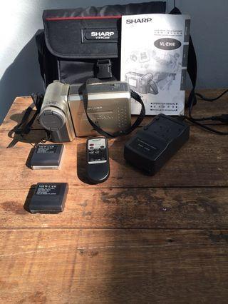 Sharp ViewCam 8mm Camcorder