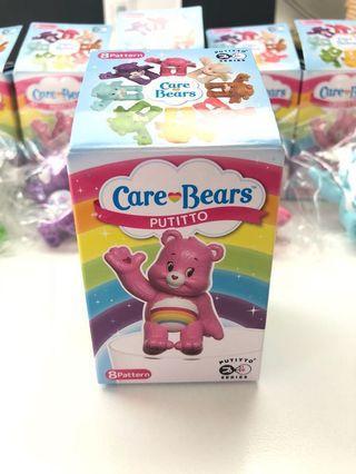 $80/5個 care Bears 愛心小熊盒裝 迷你 figure ,日本,全新