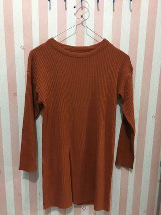 Sweater Cream Orange