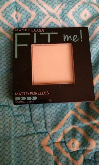 Maybeline pressed powder