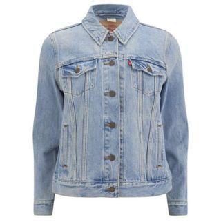 Levi's Boyfriend Jacket Blue