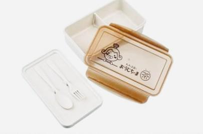 茶茶小王子小麥纖維環保餐盒