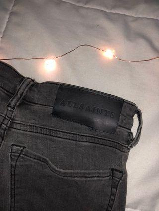 All saints jeans (bought for $200)