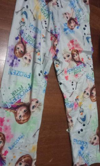 (Free Normal Mail)Ready Stocks Frozen Leggings Size 2T
