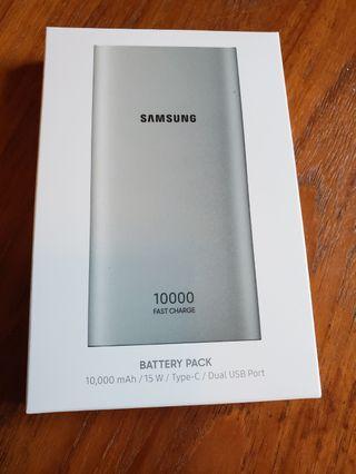 100% new Samsung 10000 mAh power bank fast charge