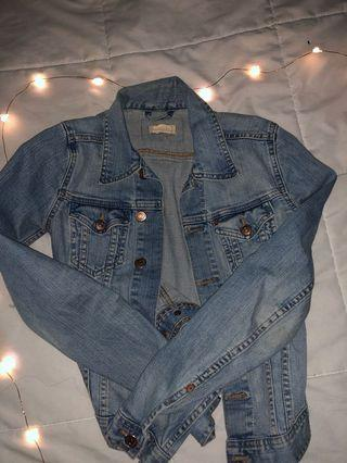 Cute light wash jean jacket