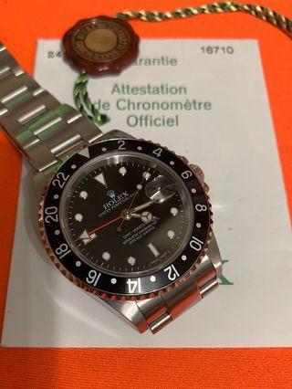 Rolex GMT-MASTER 2  16710