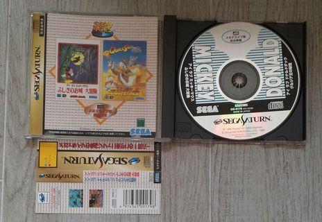 Mega Drive 復刻 Mickey Donald SS 日版game
