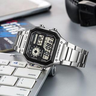Casio AE-1200WHD Digital Watch Casio Royale (AE1200 AE-1200)