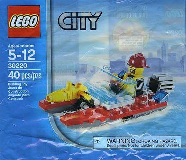 Lego 2013 City 30220 Fire Speedboat Polybag