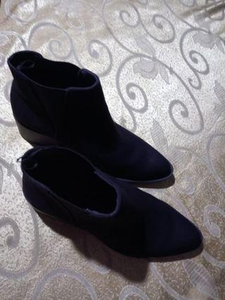 H&M boots hitam
