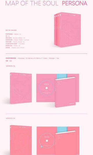 BTS Map of the Soul : PERSONA album